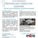 Spectra-lettre-information-etude-silencieux-reseau-air-surpresse