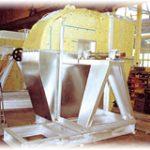 Calortifuge acoustique d'un ventilateur centrifuge