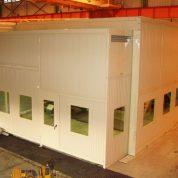 Cabine banc d'essais hydraulique acoustique