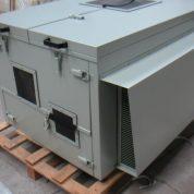 Capot skid ventilation et insonorisation compresseur