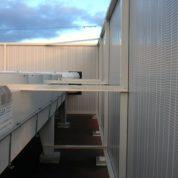 Ecran acoustique toiture terasse