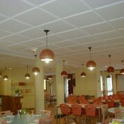 Restaurant correction plafond mousse acoustique
