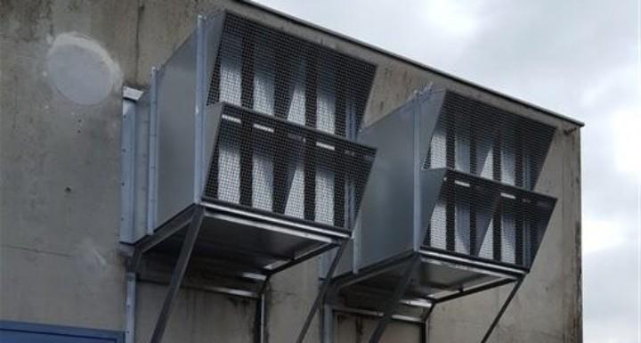 Spectra Insonorisation Local Surpresseur Step Belfort Extraction Silencieux Pare Pluie